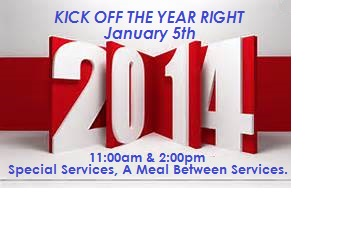 kick of the year service january 5th